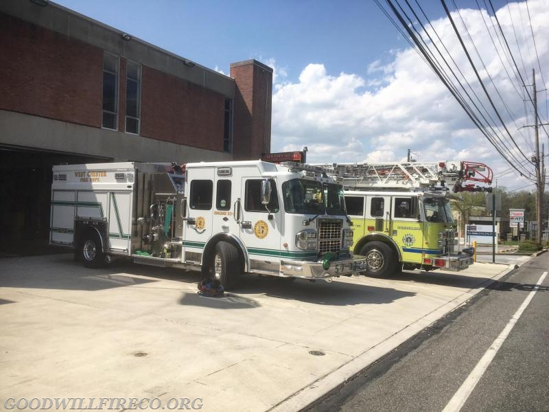 Busy Easter Sunday For Station 52 Goodwill Fire Company