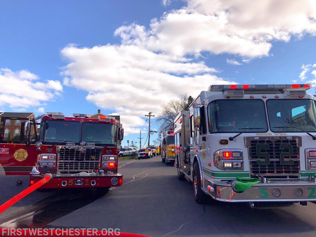 Engine 52-2 next to Engine 51-2