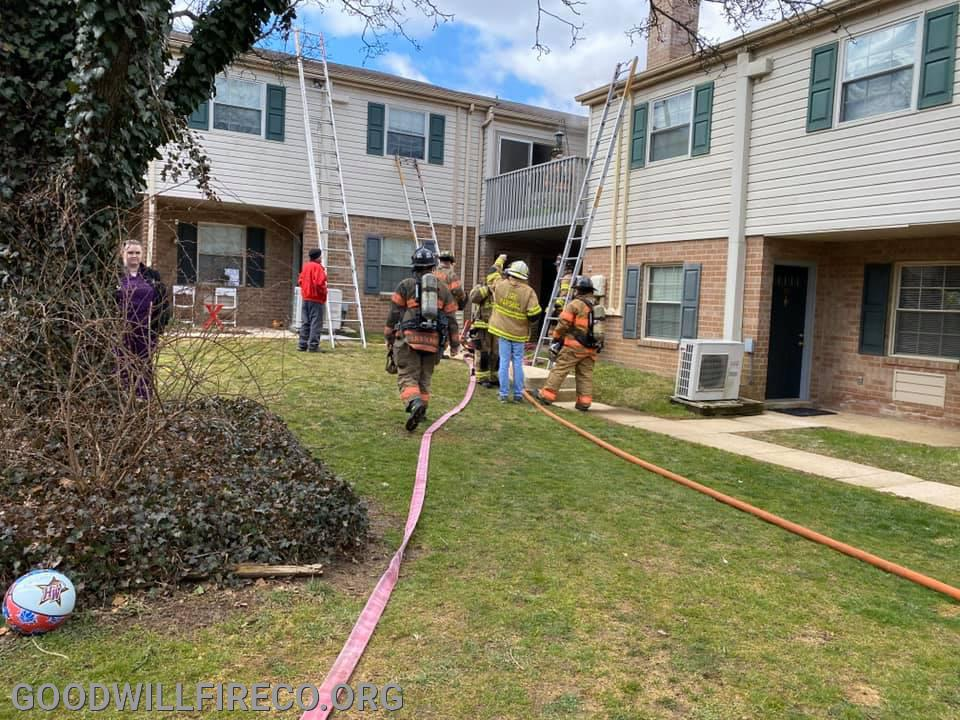 Goshen Road Apartment Fire