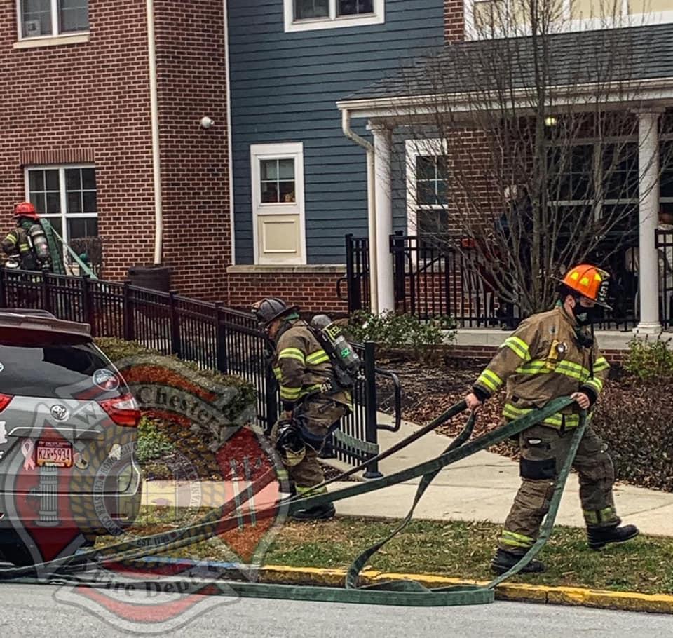 Building Fire in the 300 Block of N. Walnut St.