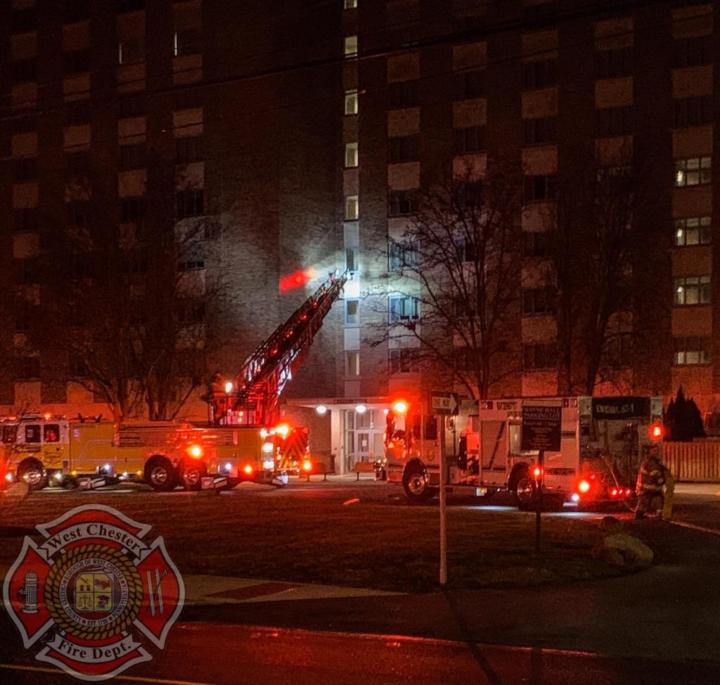 Building Fire in the 53 Local.