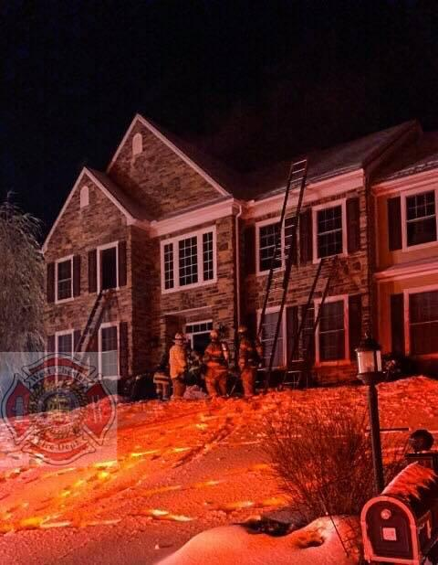 Station 39 Working House Fire