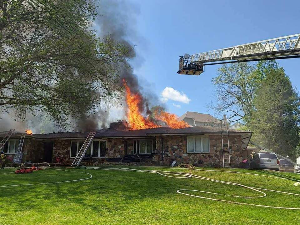Working Fire in Delco 59 local