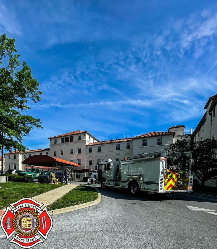 Engine 52-1(FF A. Smiley) as the FDE at Chester County Hospital