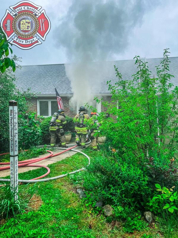 Working Fire in the 51 local