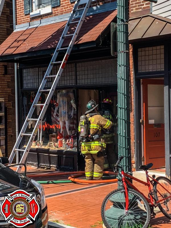 Fire in the 100 Block of N. Church St.