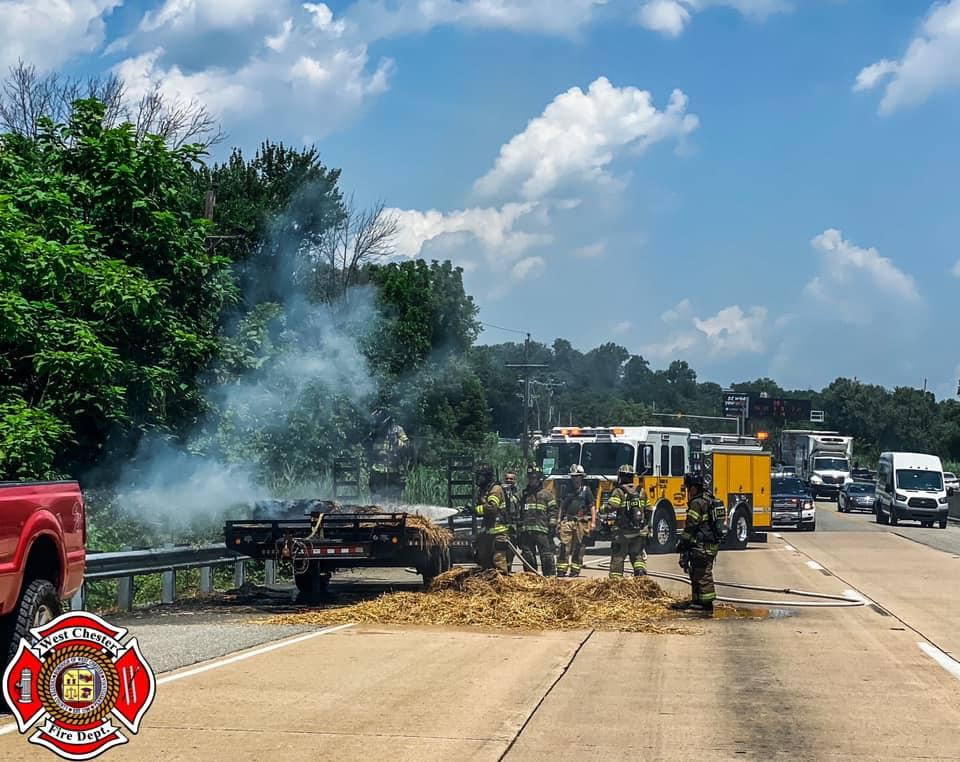 Car Fire on Rt. 202