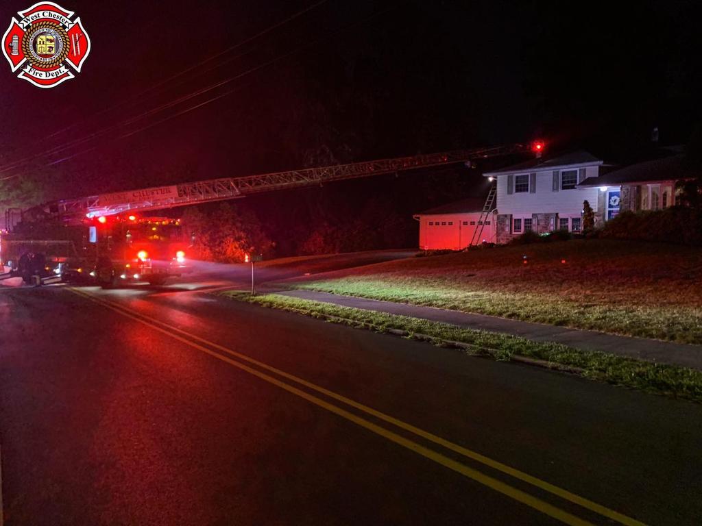 Fire in Delco 59's local